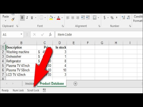How to Fix Arrow Key Scrolling in Excel