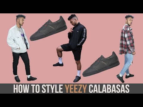 How To Style Yeezy Powerphase Core Black || Unboxing Review & Sizing 🔥
