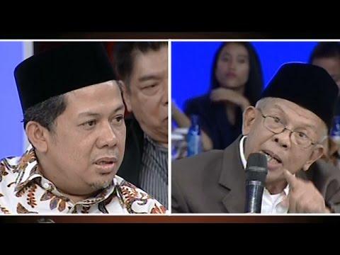 Kemarahan AM Fatwa kepada Fahri Hamzah di Acara ILC tvOne