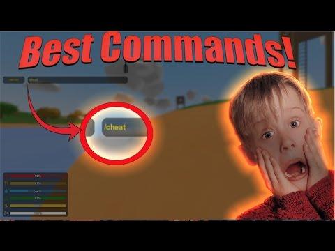 Unturned Best Commands! (single player & admin)