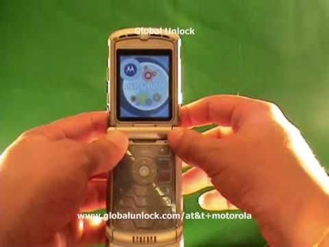 AT&T Unlock Motorola V9 phone - globalunlock.com
