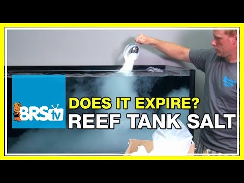 FAQ #41 Do salt mixes expire and can mixed saltwater be stored long term? | 52 FAQ