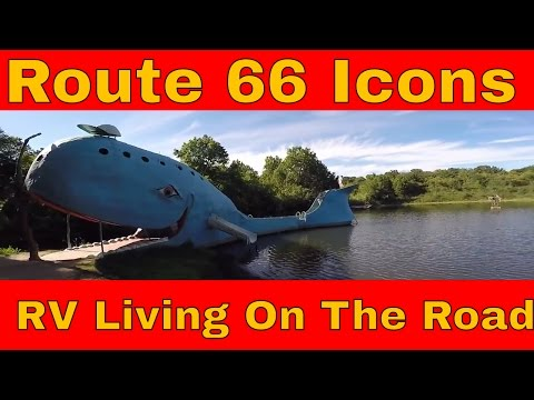 Route 66 RV Living On The Road Hard Rock Casino Catoosa Blue Whale Rock Cafe & Skyliner Motel