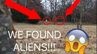 WE FOUND ALIENS IN MY BACKYARD AGAIN!!! ALIEN FOOTAGE PROOF!!(You wish this was clickbait)
