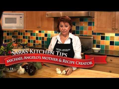 Sara's Cooking Tips: How to Cut Garlic