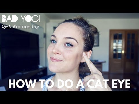 Q&A: How to do a cateye (eyeliner)