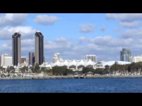 San Diego from Ferry to Coronado Island