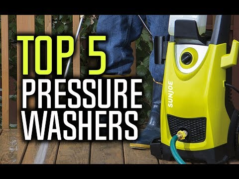 Best Pressure Washers in 2018 - Which Is The Best Pressure Washer?