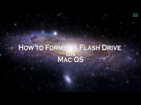 How to Format a Flashdrive on Mac OS
