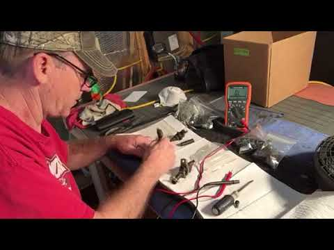 Fuel injector ohm check