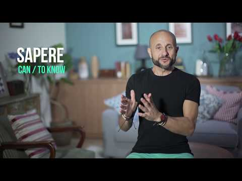 Italian Expressions: Learn Intermediate Italian and How to Use the Verb SAPERE, differently [IT]