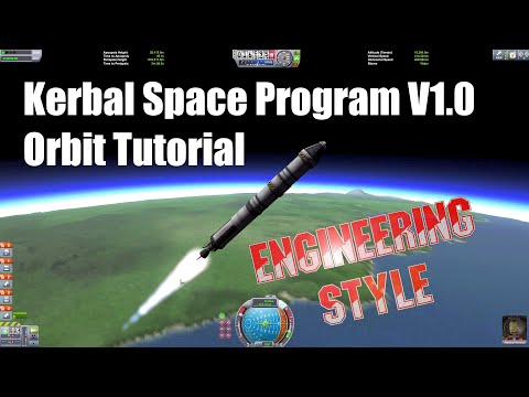 Kerbal Space Program - Orbit Tutorial for V1.0
