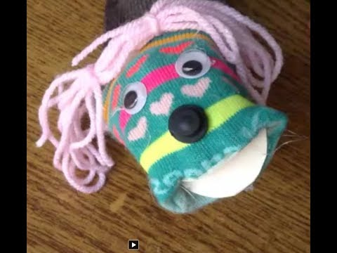 Sock Puppet Making Tutorial For Kids: How to make Sock Puppets