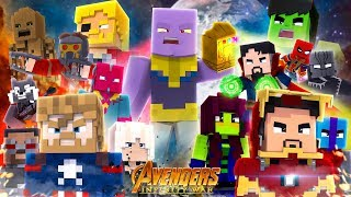 Download Minecraft MOVIE - THE AVENGERS, INFINITY WAR! Video