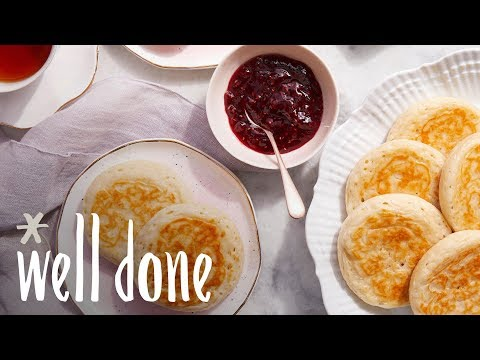 How To Make Crumpets | Recipes | Well Done