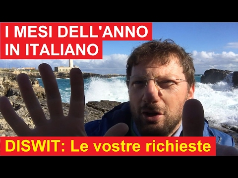 DISWIT - I MESI DELL'ANNO IN ITALIANO