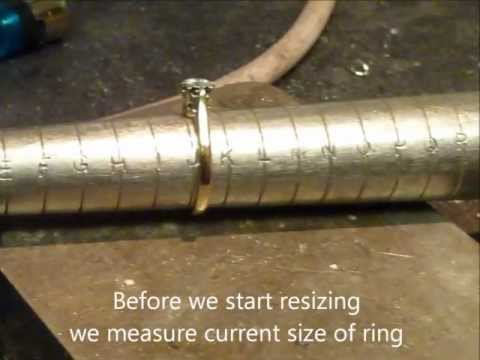 How to resize a ring