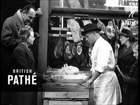 Meat Cut Ties Up Butchers (1951)