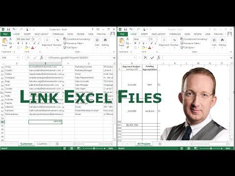 Link Excel Files