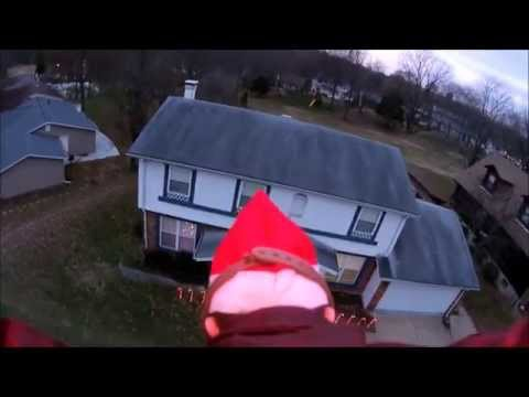 Elf On the Shelf Chippy flying to your house