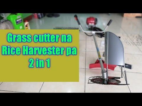 Rice harvester/Grass cutter
