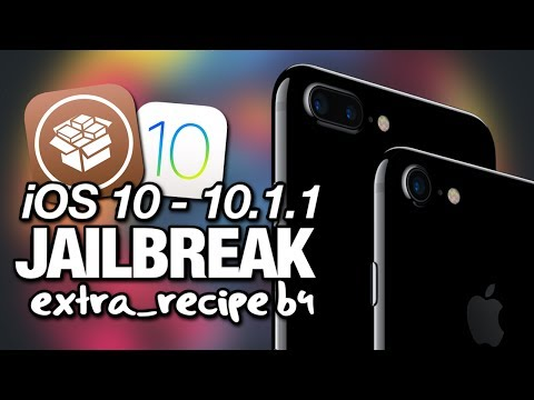 NEW How To JAILBREAK iOS 10 - 10.1.1 With extra_recipe beta4 On iPhone - iPad - iPod Touch