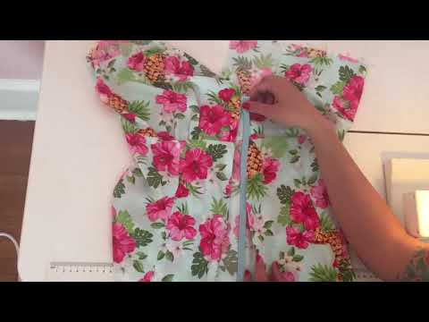 Rita Blouse Sew Along: Inserting the Invisible Zipper