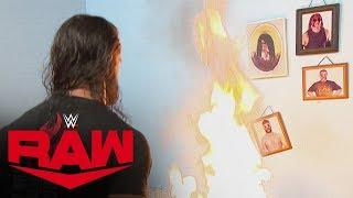 Seth Rollins goes berserk, destroying