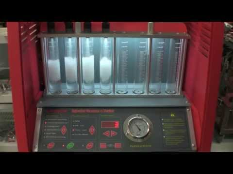 Full Throttle Speed Fuel Injector Bench Testing & Cleaning