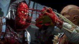 Mortal Kombat 11 - Scorpion vs Baraka Gameplay Demo (2019)