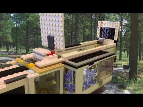 Lego Camper Trailer Stop Motion