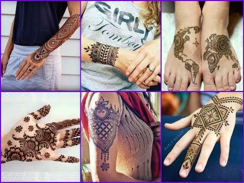 50+ Latest Beautiful Henna Tattoo Ideas