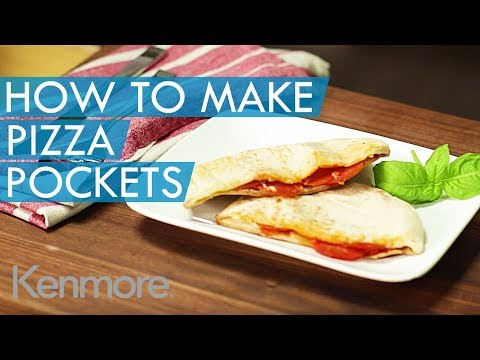 How to Make Pizza Pockets in a Toaster | Kenmore Pizza Recipes
