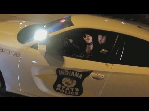 BIKE VS COPS Girl On Motorcycle Gets SCARIEST Street Bike Ride EVER Caught On Tape 2018