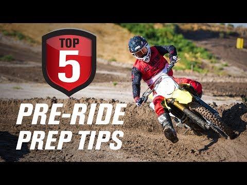 Top 5 Dirt Bike Pre-ride Prep Tips