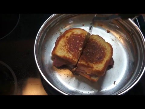 The World's Best Grilled Cheese Sandwich - ASMR