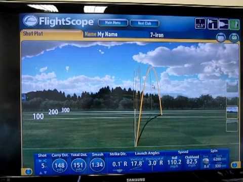 Ball Flight Control- Flightscope Launch Monitor
