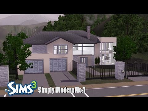 The Sims 3 - House Building - Simply Modern No.1
