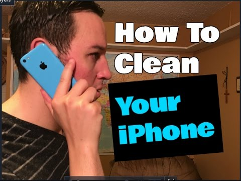 How To Clean an iPhone Without Damaging The Coating