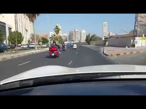 Morning drive in Kuwait