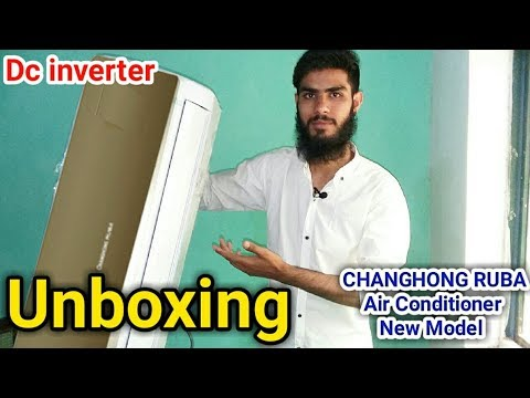 Changhong Ruba energy saver Dc inverter unboxing & review in Urdu/Hindi