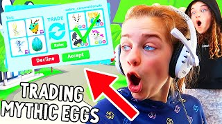 TRADING ONLY MYTHIC EGGS in ADOPT ME Gaming w/ The Norris Nuts