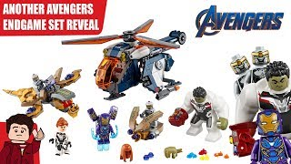 Download Another LEGO Avengers Endgame Set - Avengers Hulk Helicopter Drop Video