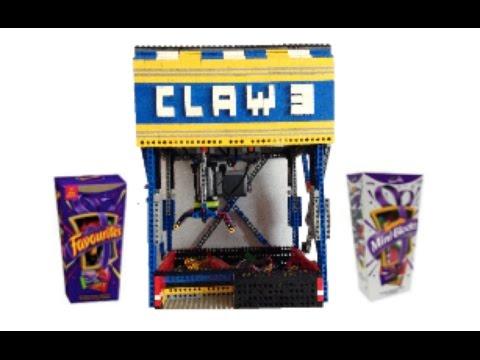 Mini Lego Claw Machine V3 | 'Cadbury Favourites'
