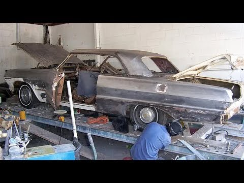1963 Chevrolet Impala SS Custom Lowrider Build Project