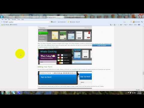 Aweber - Email Marketing - on Wordpress - Tutorial - Autoresponder - Install