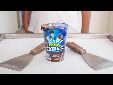 MINI OREO ICE CREAM ROLLS - SATISFYING ASMR