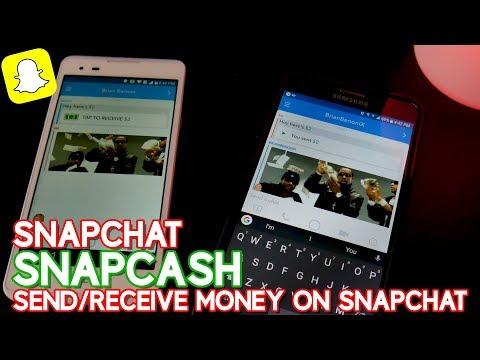 SNAPCHAT SNAPCASH | SEND/RECEIVE MONEY ON SNAPCHAT 🤑💲