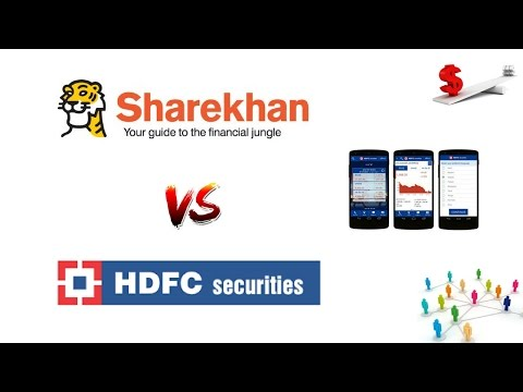 Sharekhan Vs HDFC Securities - Detailed Comparison