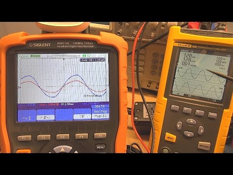 Single Phase Power Quality Pt1 - Power Factor in Linear Loads